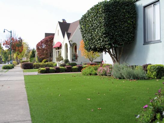 Artificial Grass Photos: Artificial Grass Installation Cache, Utah Paver Patio, Front Yard Landscape Ideas