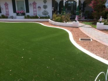 Artificial Grass Photos: Artificial Grass Installation Plain City, Utah Landscaping, Front Yard