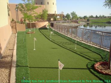Artificial Turf Installation West Jordan, Utah Home Putting Green, Backyard artificial grass