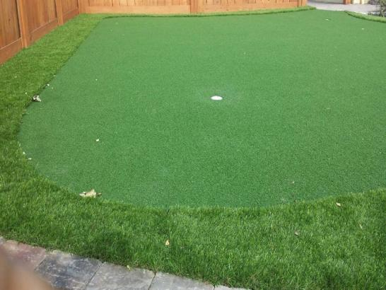 Fake Grass Kenilworth, Utah Outdoor Putting Green artificial grass