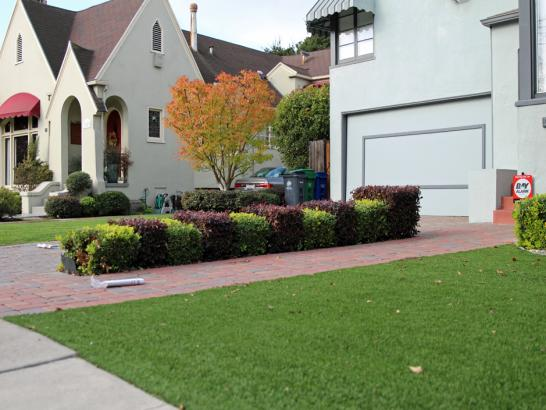 Artificial Grass Photos: Green Lawn Hanksville, Utah Backyard Deck Ideas, Front Yard Design