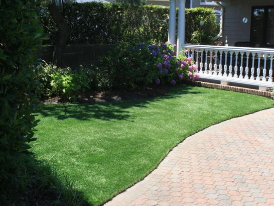 Artificial Grass Photos: Green Lawn Mendon, Utah City Landscape, Front Yard Design