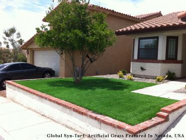 Green Lawn South Jordan, Utah Landscape Ideas, Small Front Yard Landscaping artificial grass