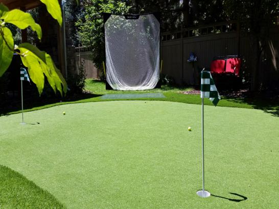 Artificial Grass Photos: Installing Artificial Grass Centerfield, Utah Landscape Photos, Backyard Landscaping