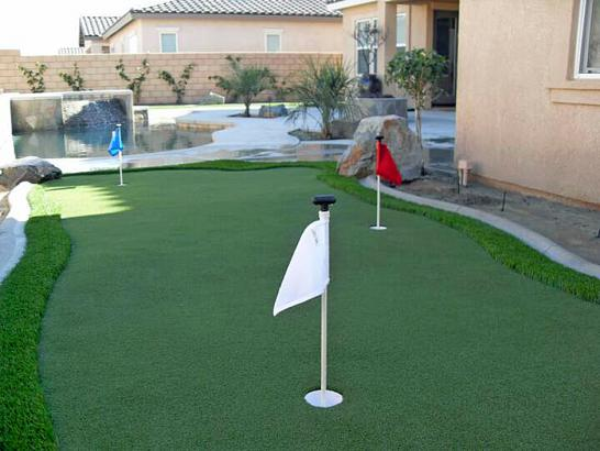 Artificial Grass Photos: Synthetic Lawn Canyon Rim, Utah Paver Patio, Backyard Landscaping