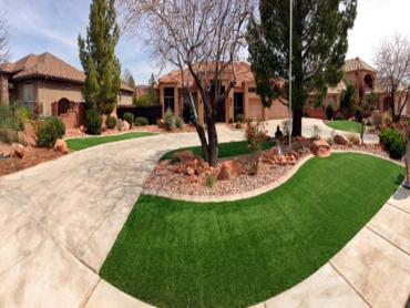 Synthetic Turf Clinton, Utah Home And Garden, Front Yard artificial grass